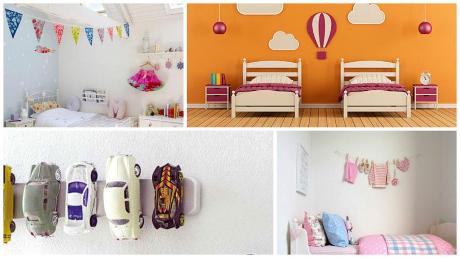 Ideas fáciles para decorar la habitación de los niños