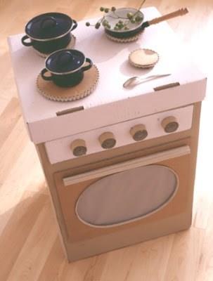 Cocina de cart n para jugar for Accesorios de cocina argentina