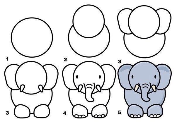 ¡Dibuja animales muy fácilmente!