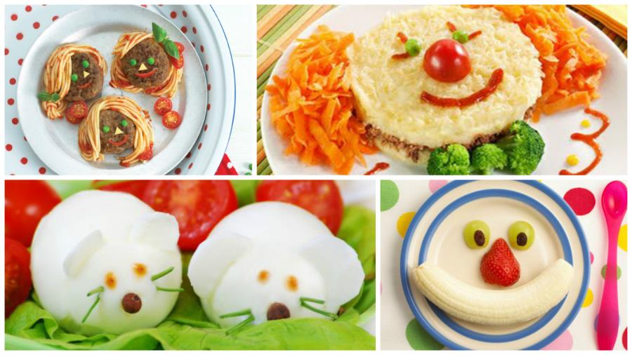 comidas divertidas y saludables para nuestros ni os