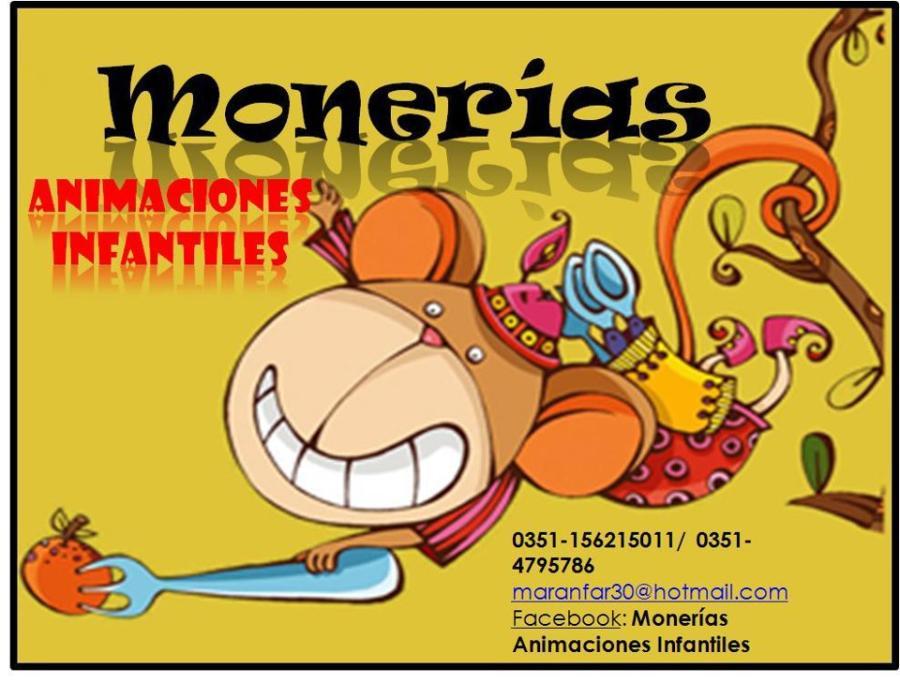 Monerías Animaciones de Fiestas Infantiles
