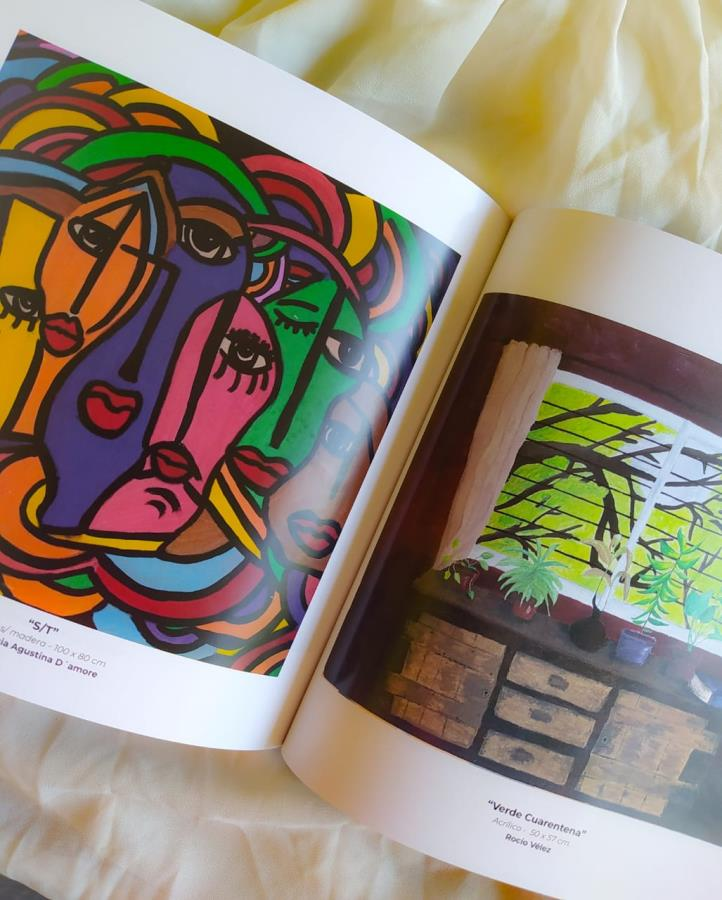 Libro Catálogo Arte covid - 19