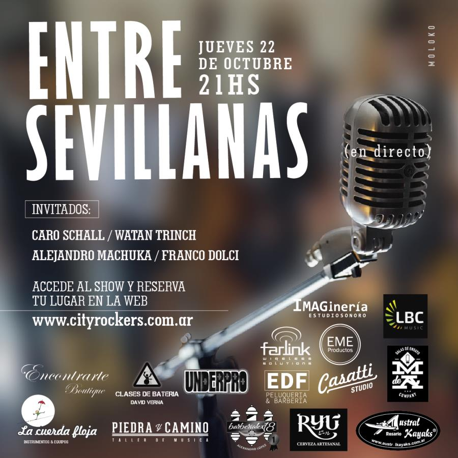 Entre Sevillanas en directo por CityRockers