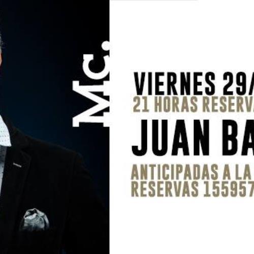 Stand Up: Juan Barraza | viernes 29 de junio!