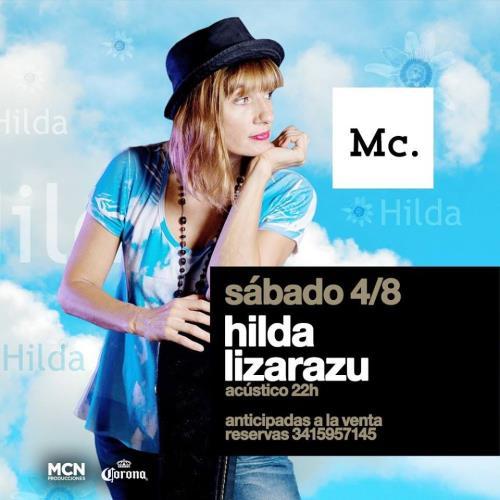 Hilda Lizarazu acústico! sábado 4 de agosto #10años