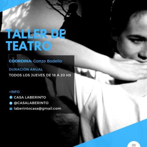 """Taller de Teatro """"La piel que habito"""""""
