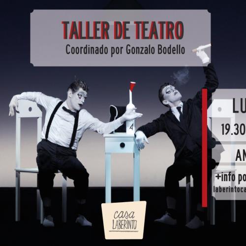 "Taller de Teatro ""Mi Duende Interior"""