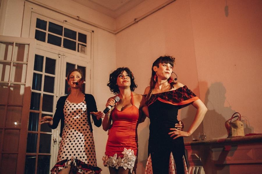 La Cucca y la Rossi nuevamente junto a Lore Jimenez en Casa Laberinto