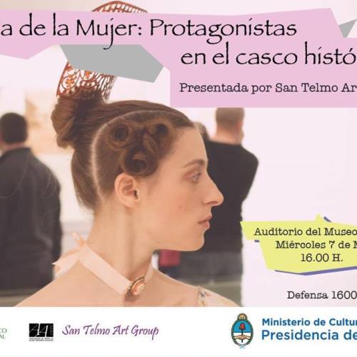 Conferencia Día de la Mujer San Telmo Art Group