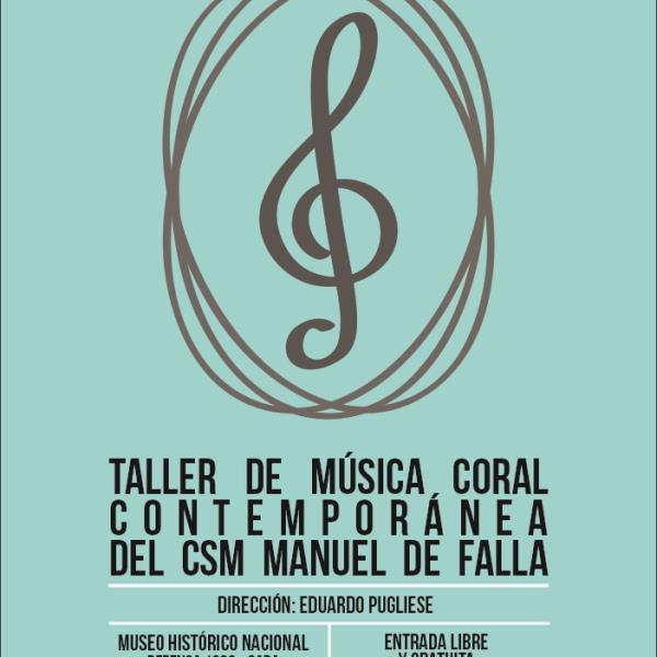 Concierto, Taller de Música Coral Contemporánea