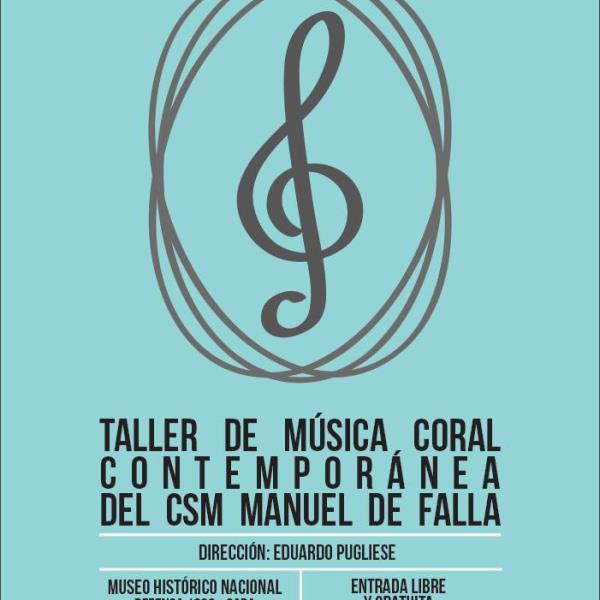 Concierto - Taller de Música Coral Contemporánea