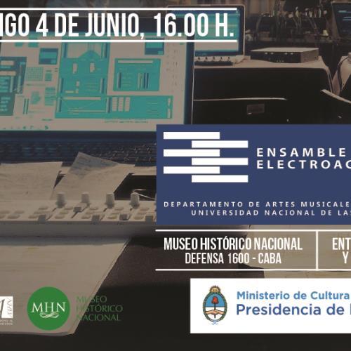 Concierto del Ensamble Electroacústico del DAMus.