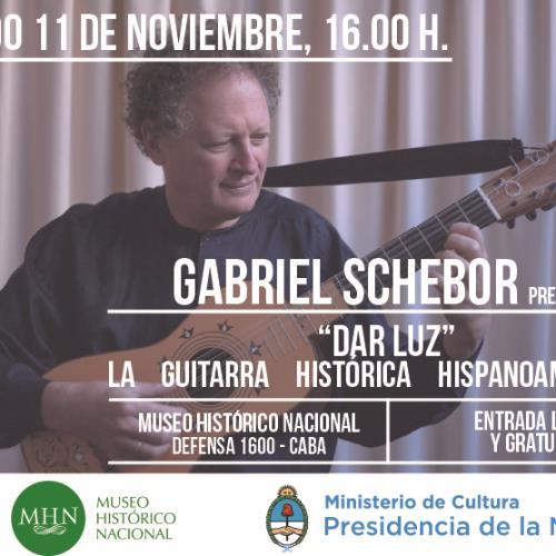 Concierto de guitarra de Gabriel Schebor