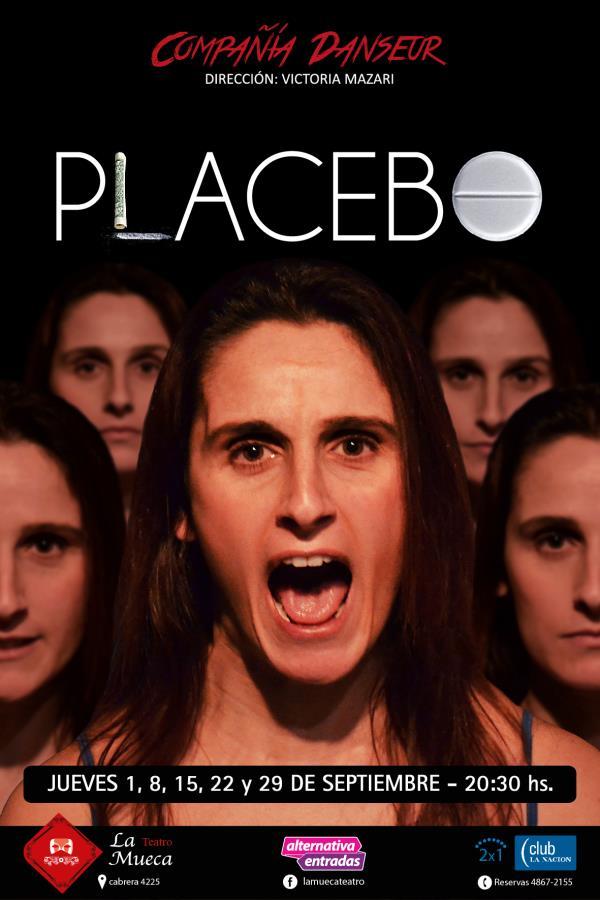 """Compañía Danseur """"PLACEBO"""" en el Teatro La Mueca"""