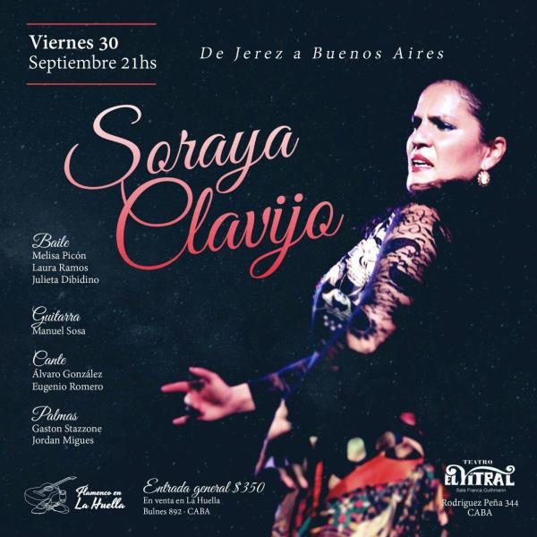 SORAYA CLAVIJO FLAMENCO DE JEREZ A BUENOS AIRES