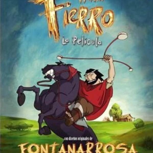 Proyección de Martín Fierro de Fontanarrosa.
