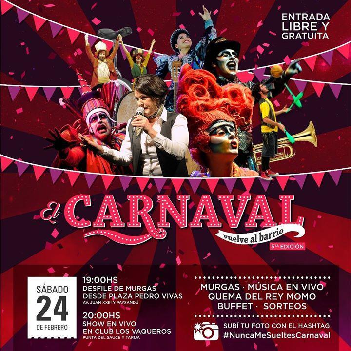 Carnaval En Barrio Talleres