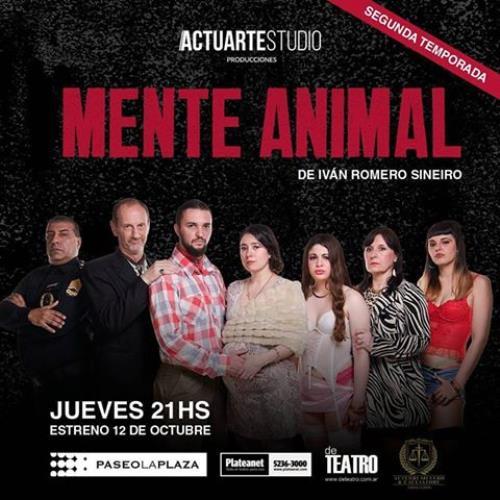 Mente Animal 2da Temporada de Ivan Romero Sineiro