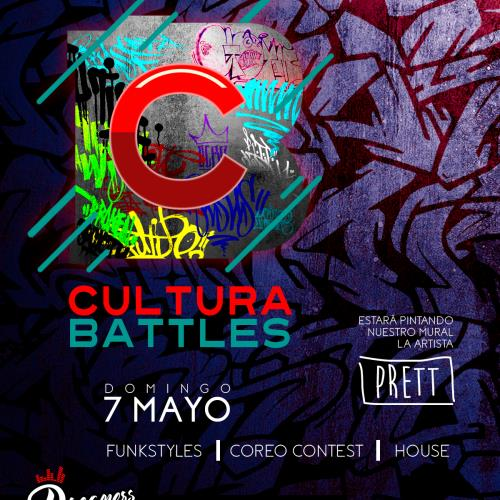 Cultura Battles III + Muraleada en vivo con Natalia Preto