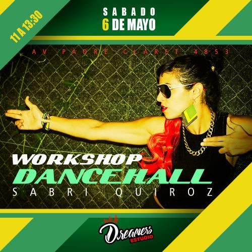 Workshop Dancehall | Sabri Quiroz (Buenos Aires)