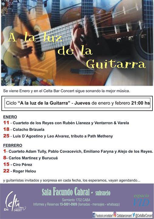 A la luz de la guitarra - Luis D´Agostino y Leo Alvarez