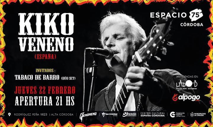 Kiko Veneno en Córdoba!