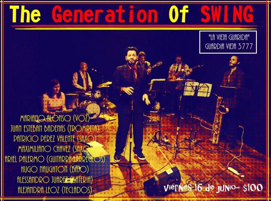 Continua el ciclo 2017 en La Vieja Guarida para The Generation of SWING