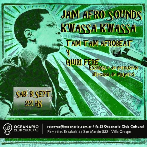Jam Afrosounds: TamTam + Guirí Feré