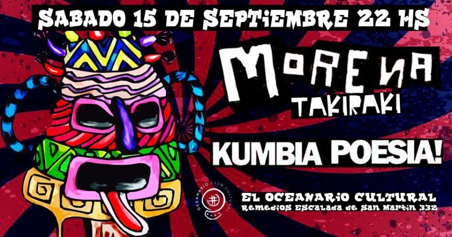 Morena takiraki y Kumbia poesía