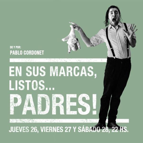 STAND UP: EN SUS MARCAS, LISTOS …, ¡PADRES!! en BTE