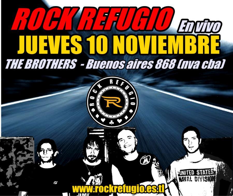 ROCK REFUGIO en vivo en THE BROTHERS bar