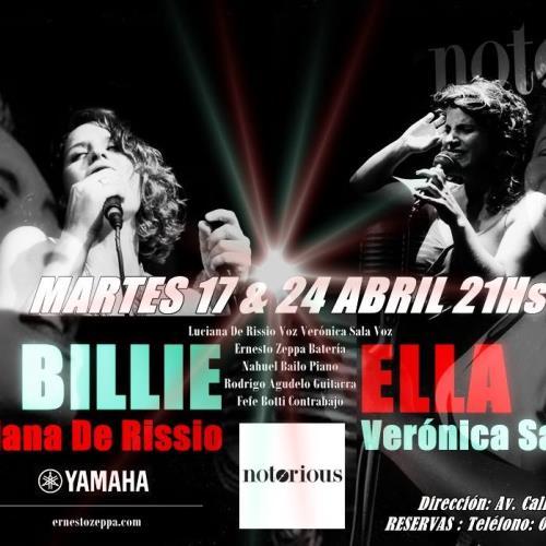 Billie Holiday & Ella Fitzgerald celebration