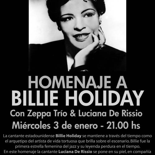Homenaje a Billie Holiday