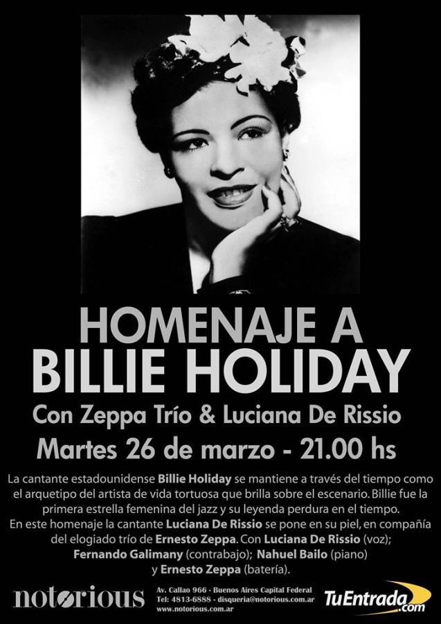 Homenaje a Billie Holiday