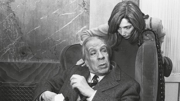 Recordando a Borges, palabras para ver y escuchar
