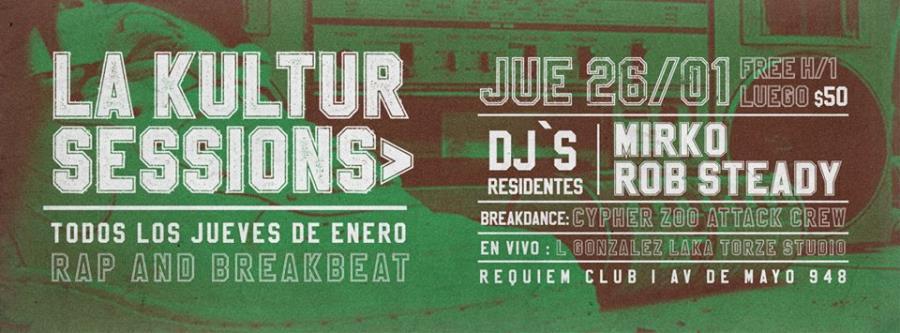 La Kultur Session Rap N Breakbeat