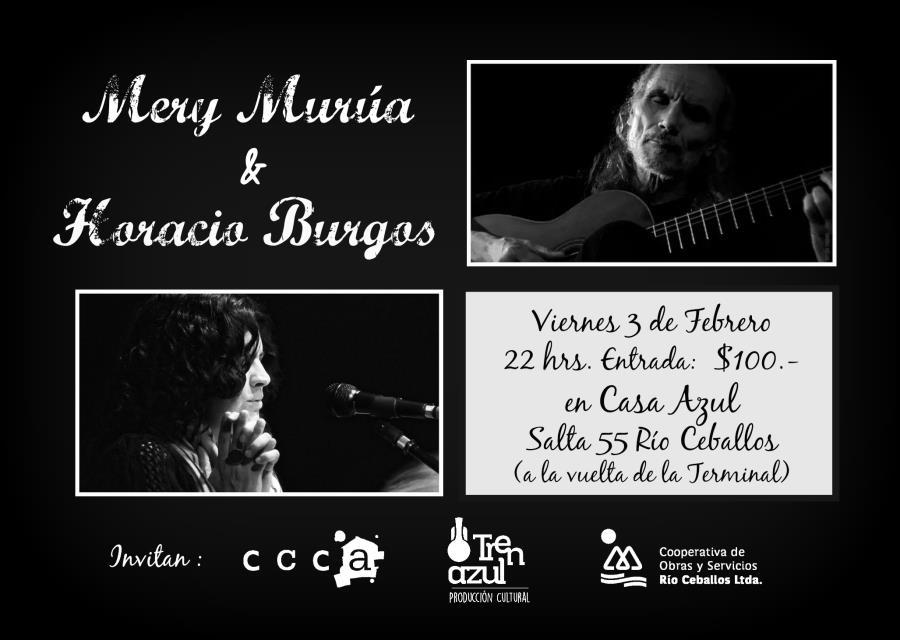 Mery Murúa y Horacio Burgos