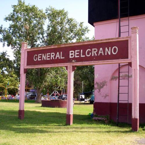 Plaza 1° de Agosto, Gral. Belgrano
