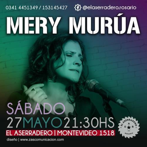 MERY MURÚA presenta su disco SAL en Rosario