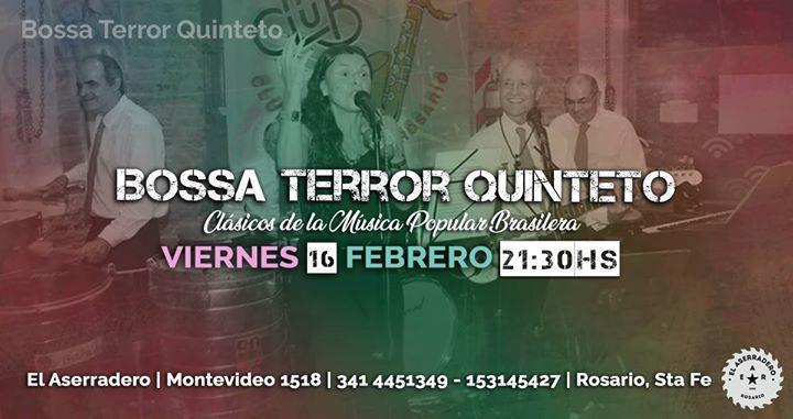 Bossa Terror Quinteto. Clásicos de la Música Popular Brasilera
