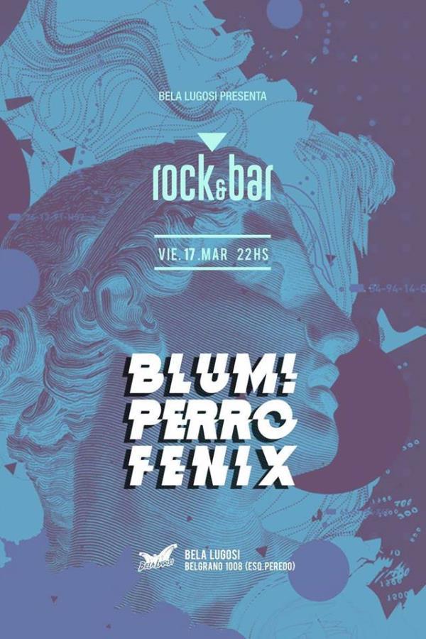 Blum! Perro Fénix en Bela Lugosi   #Rocknbar