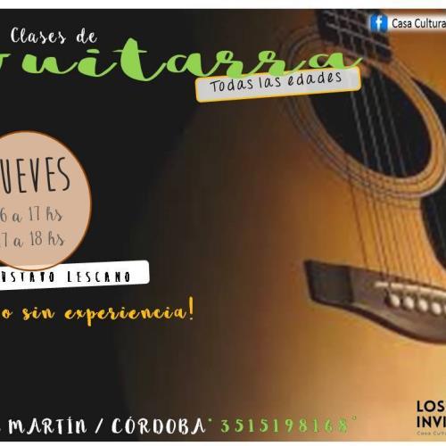 Clases de Guitarra (Todas las edades)