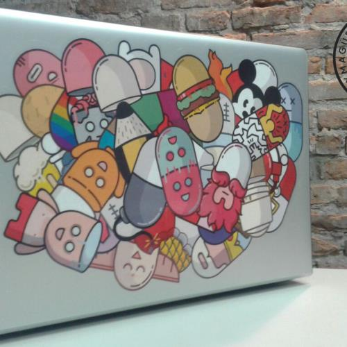 Adhesivo Decorativo Notebook