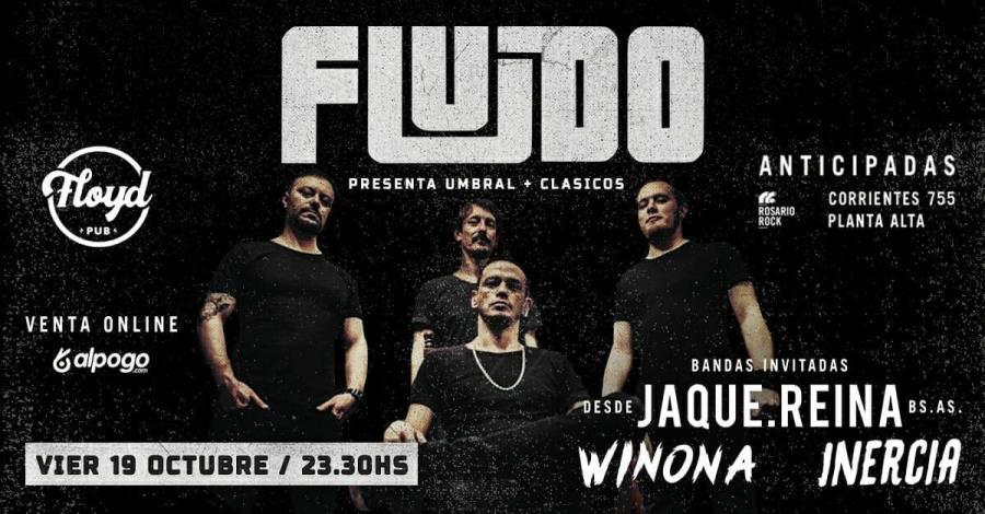 "FLUIDO ¡ Presenta ""Umbral"" + clásicos !"