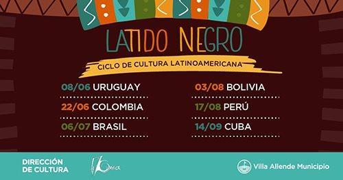 "Ciclo de Cultura Latinoamericana: ""Latido Negro"""