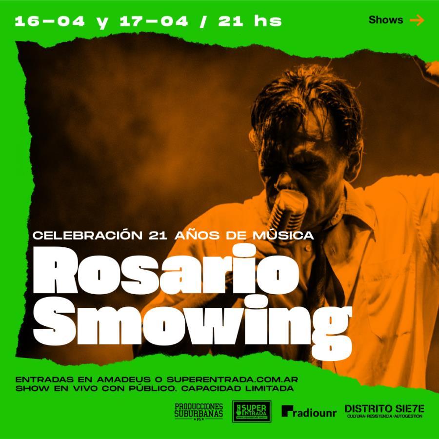 ROSARIO SMOWING celebra sus 21 años