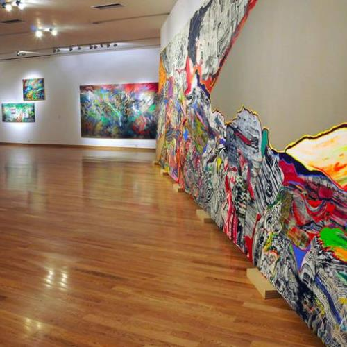 Visita guiada a la exposición temporaria Luis Felipe Noé. Mirada Prospectiva