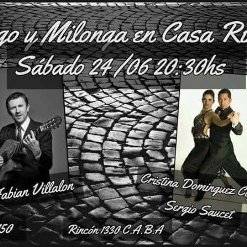 Tango y Milonga en Casa  Rincón