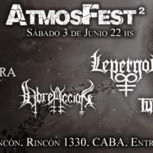 ATMOSFEST II: Noche de Metal en San Cristóbal