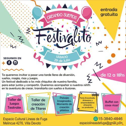 Festivalito «Creando sueños»